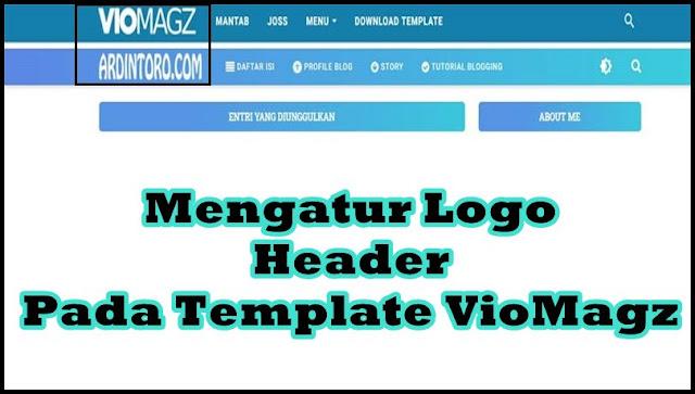Cara Mengatur Ukuran Gambar/Logo Header pada Template VioMagz