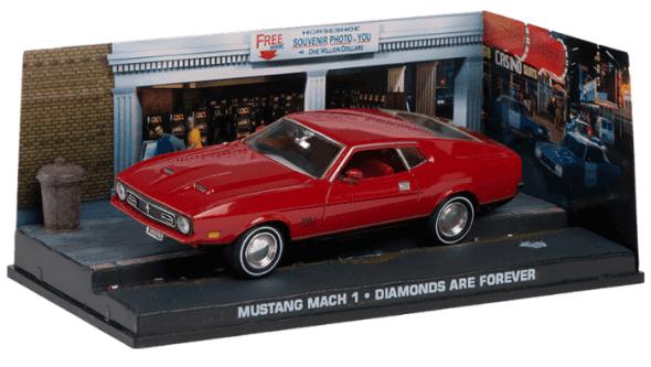 Mustang Mach 1 - Diamonds are forever 1:43 colección james bond