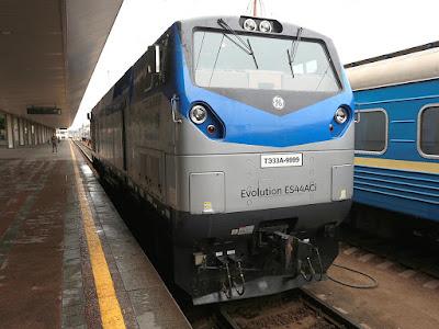 """""""Укрзалізниця"""" чекає на перший локомотив з США"""