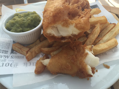 Fish & Chips Friday at Black Horse, Beamish - fish and chips deal