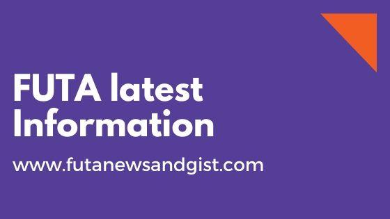 FUTA Online Screening Fresher Registration Procedure - FutaNewsandGist