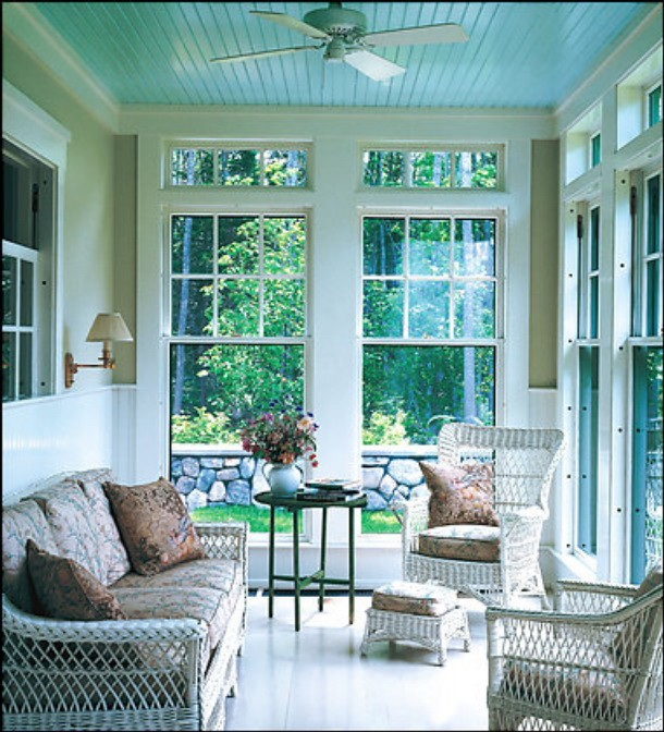 Willow Bee Inspired: Be Inspired No. 2 - Haint Blue Porch ...