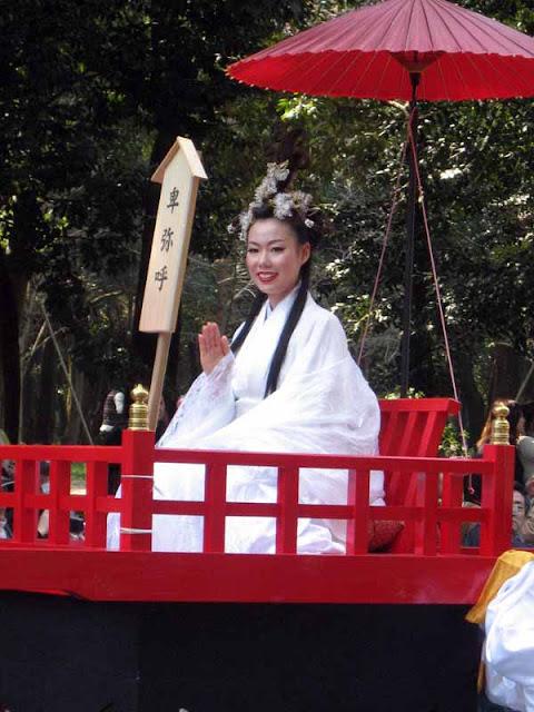 Spring Festival at Kashihara Jingu Shrine, Nara