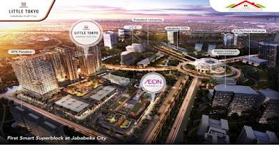 Jalan. H Usman Ismail   Lokasinya di pusat bisnis Kota Jababeka, Cikarang. Berdekatan dengan Plaza Indonesia Jababeka, Jababeka Convention Centre, serta President University