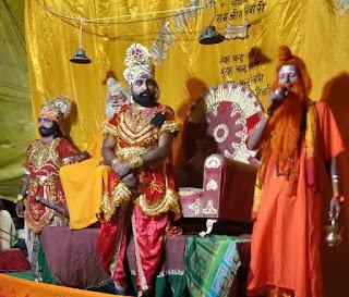 Jaunpur News : राम का जन्म होते ही लगे जय श्री राम के जयकारे