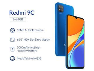 Download MIUI 12 For Redmi 9C (Angelica)