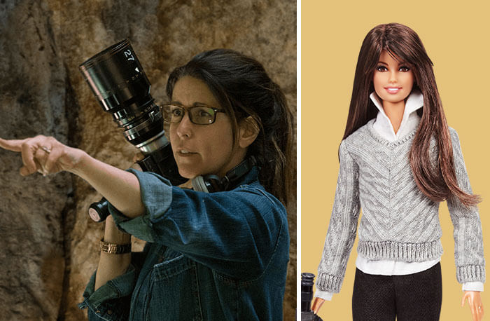 Barbie Introduces 17 New Dolls Based On Inspirational Women Such As Frida Kahlo And Amelia Earhart - Patty Jenkins, Filmmaker