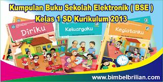 Kumpulan Buku Sekolah Elektronik ( BSE ) Kelas 1 SD Kurikulum 2013