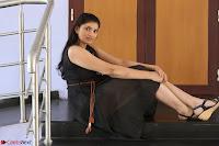 Khanishka new telugu actress in Black Dress Spicy Pics 04.JPG