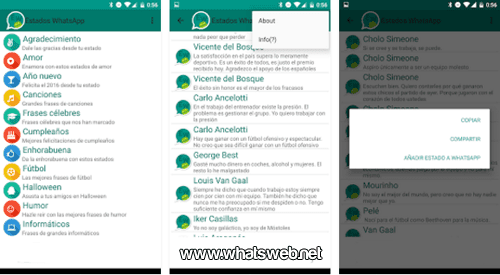 Frases divertidas con la app Estados WhatsApp