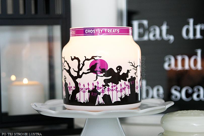 świeca zapachowa yankee candle ghostly treats