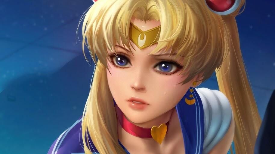 Sailor Moon, Anime, Girl, 4K, #6.2216