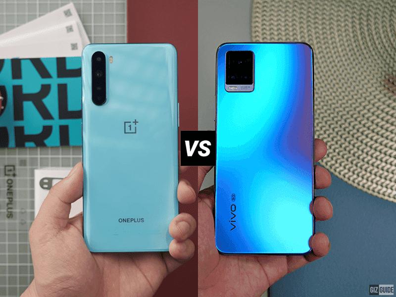 OnePlus Nord vs vivo V20 Pro 5G Specs Comparison