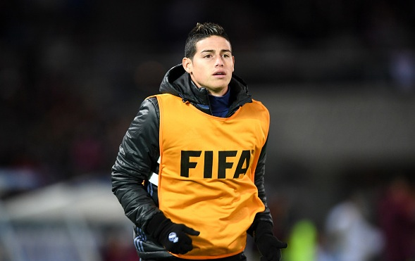 James Rodriguez set to stay at Real Madrid