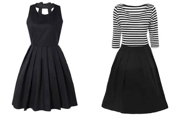 black-pleated-dress