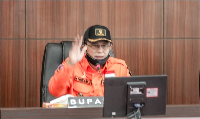 Ciamis Terapkan PSBB Parsial di 7 Kecamatan, Tigkatkan Kamtibmas