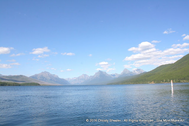 Lake McDonald, Glacier National Park, Montana, USA.