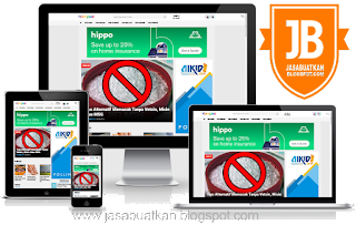 Jasa Landing Page Blogspot Responsive
