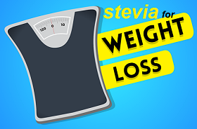 ستيفيا يساعد على فقدان الوزن