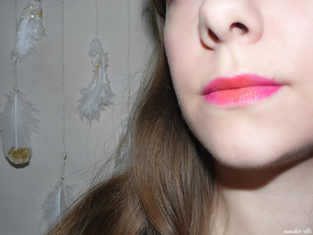 ombré lips orange/fushia