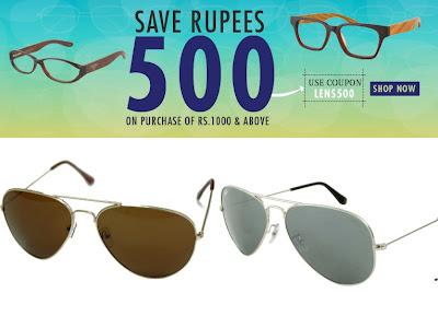 599bc51deeed You can avail this offer on all Brands of sunglasses including Fastrack ,  MTV, Farenheit, RayBan etc. Best part is they are already discounted and  you will ...