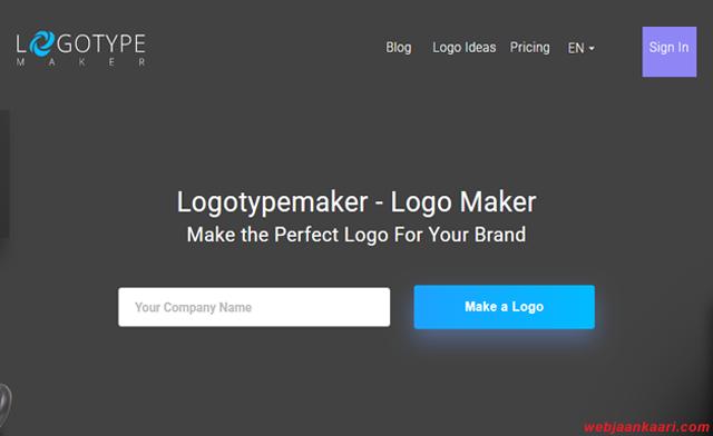 Websites logo design krne ke liye