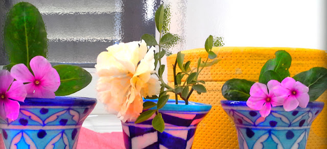 Pretty planters from Aurea Blue Pottery