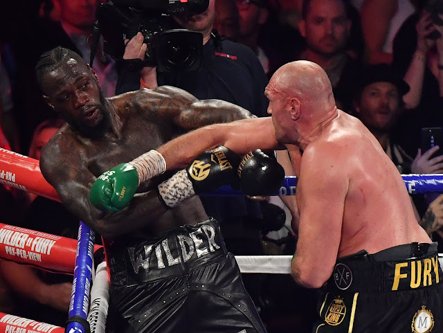 Tyson Fury Batters Deontay Wilder In Rematch