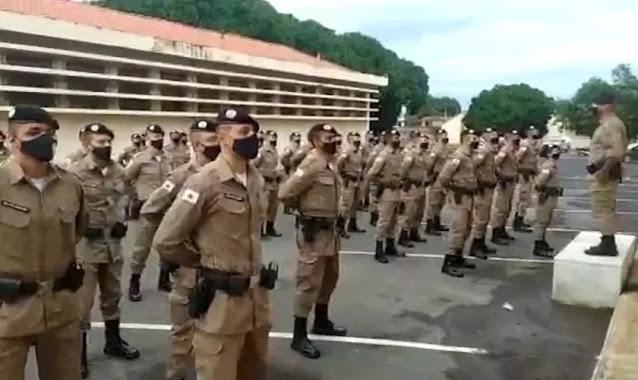 PM investiga sargento por exaltar Deus durante exercício militar