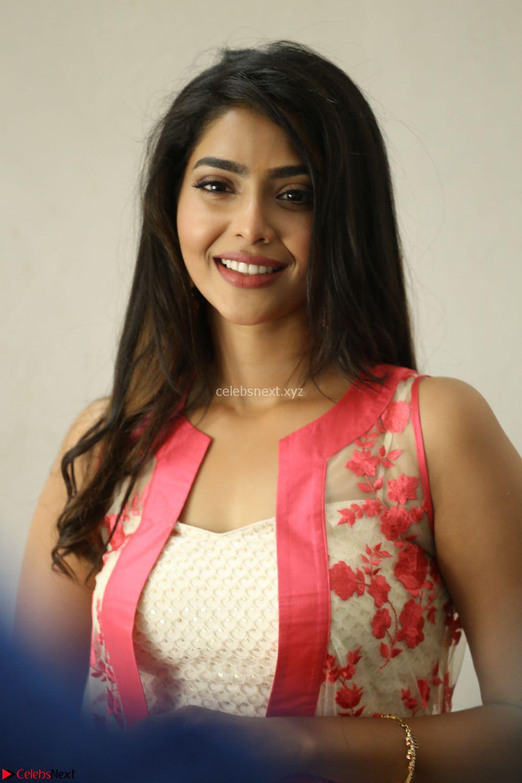 Aishwarya Lekshmi stunning in sleeveless deep neck gown transparent Ethnic jacket ~ CelebsNext Exclusive Celebrities Galleries