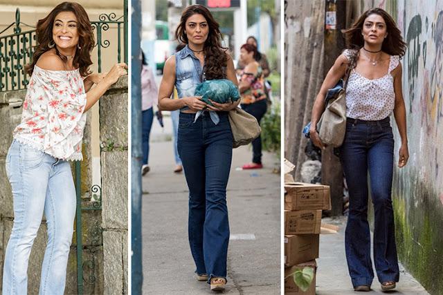 A evolução de Bibi (Juliana Paes) em A Força do Querer através dos looks