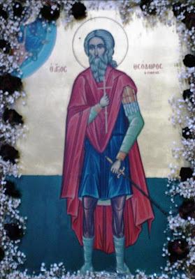 Αποτέλεσμα εικόνας για Ο Άγιος Μάρτυς Θεόδωρος Γαβράς