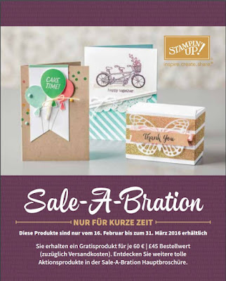 SAB, Stampin up, Sale-a-Bration, Stempelclub, Leipzig, Videos, Ideen