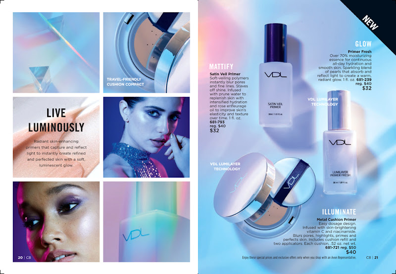 Introducing The Enhancing New VDL Primers | AVON