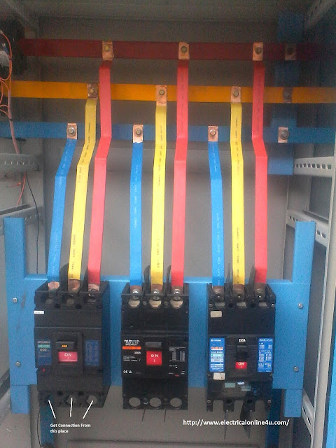 Circuit Breaker Installation For Three Phase Supply