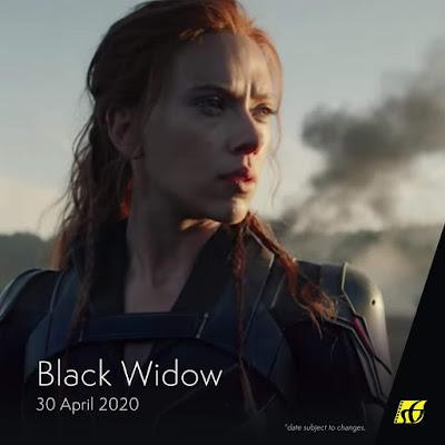 Senarai Filem Yang Akan Keluar di Panggung Wayang Tahun 2020 - Black Widow (2020)