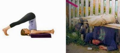 lustige Bilder Bier und besoffen Yoga machen ist Gesund