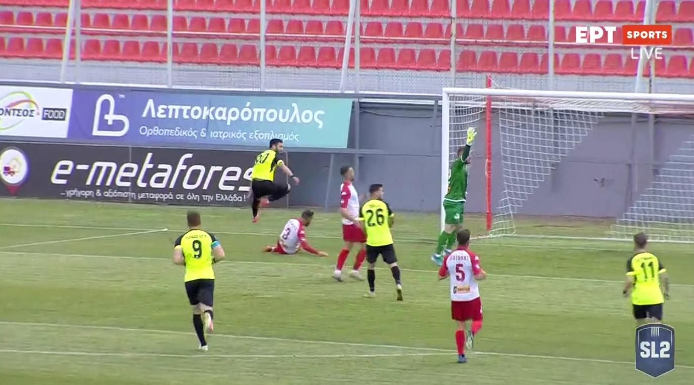 Ξάνθη - Παναχαϊκή 4-0 τελικό σκορ