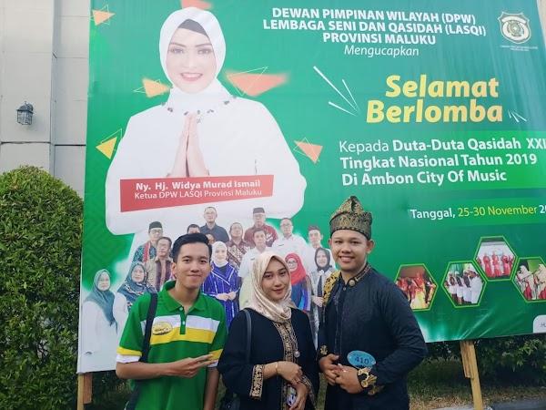 Ke Ambon, Suku Seni Dampingi Tim Riau dalam Pemilihan Duta Qasidah Tingkat Nasional