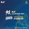 BAF Lions Run for Diabetes • 2021