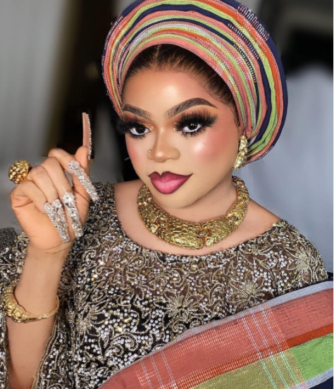 Never compare me with those rat, I lead in this crossdressing business- Bobrisky shows off his new outfit (Photos)
