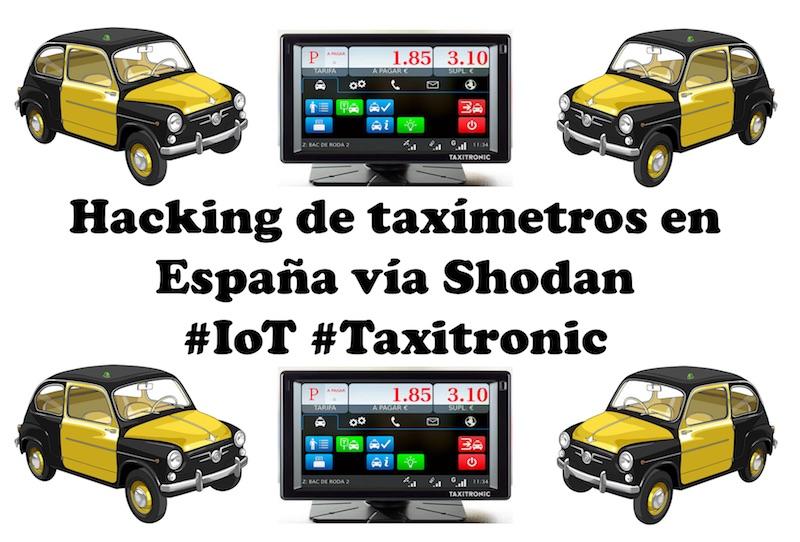 Un informático en el lado del mal: Hacking de taxímetros en España