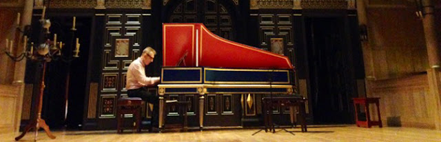 Trevor Pinnock in recital at the Sam Wanamaker Playhouse