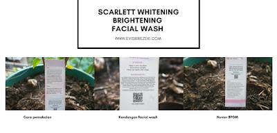Brightening Facial-Wash-dan-Acne-Serum-Scarlett-Whitening