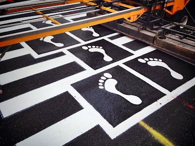 (a) biotic  design  studio: Hopscotch Crosswalk