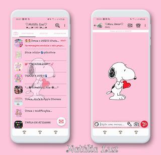 Dog on Love Theme For YOWhatsApp & Fouad WhatsApp By Natalia luz