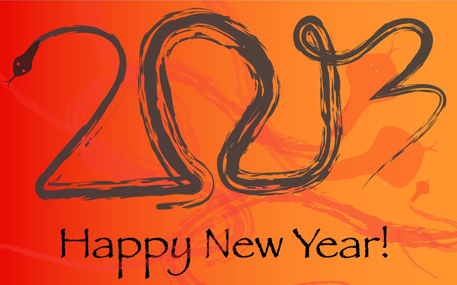 Happy New Year 2013. 1600 x 1000.Happy New Year Email Signature For Outlook