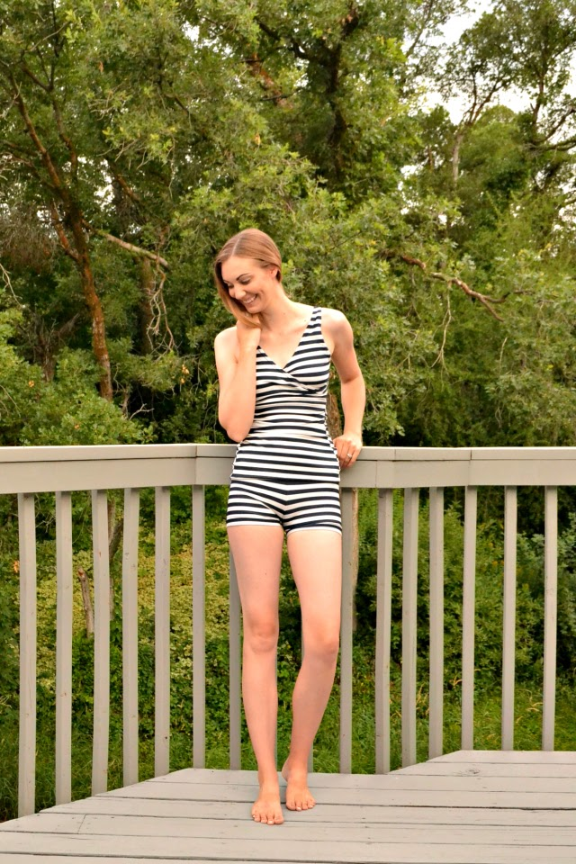 Me Made: Striped Tankini // Rad Patterns First Crush Swimsuit