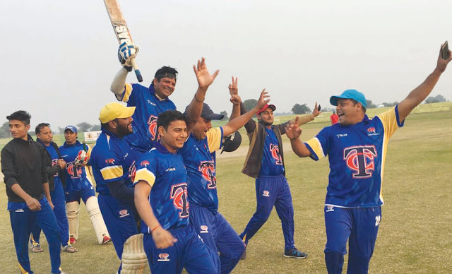 NCC and Team Chanqya TCA Finals, celebrating at Arena Maidan