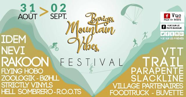 Barèges Mountain Vibes Festival Pyrénées 2018